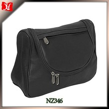Black color PU washing bag laundry cosmetic bag organizer tas kosmetik murah