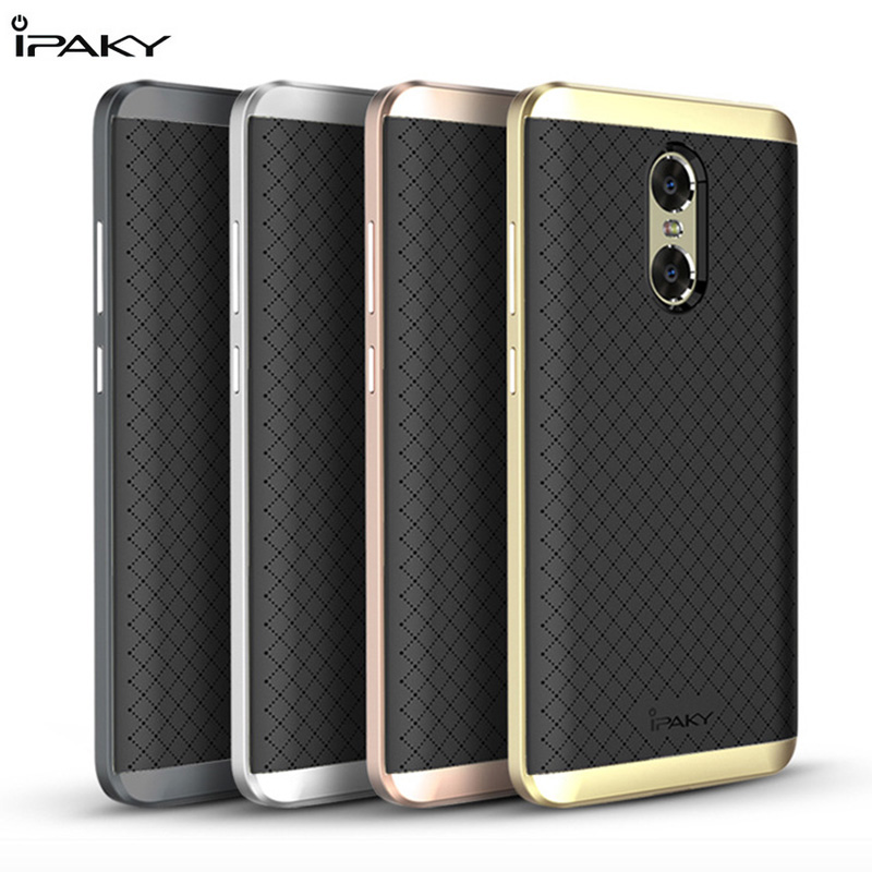 iPaky Hybrid TPU Silcone PC Shockproof Armor Back Cover Case For Xiaomi Redmi Pro