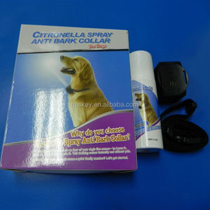 NEW Automatic Citronella Anti Bark Spray Collar Stop Dog Pet Training No Barking