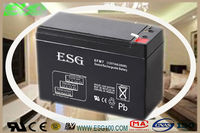 12v7AH/ SEALED LEAD ACID BATTERY/ VRLA Storage/ portable power tools measuring and medical equipment /portable video camera /por