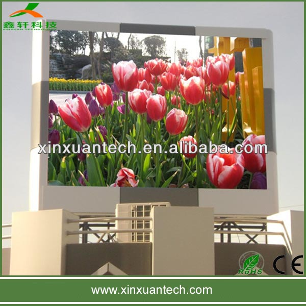 single color &full color pitch 20mm led display panel outdoor