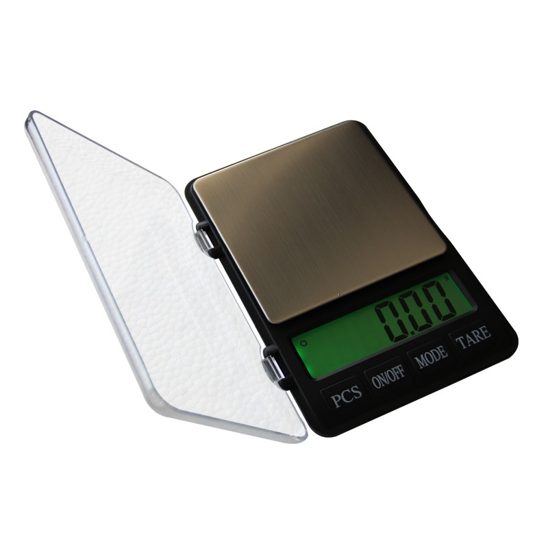 Digital Mini Scale Notebook Digital Scale With Glass Material