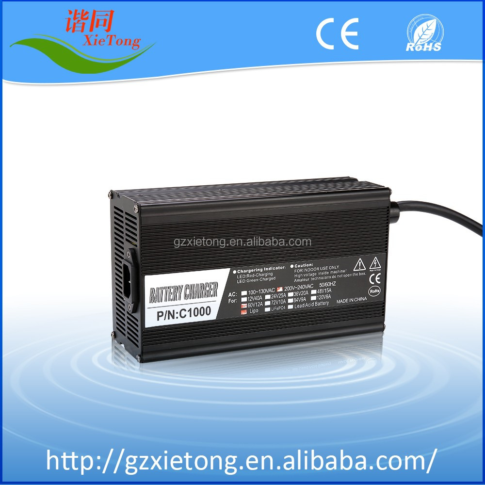 48V Lithium Ion Charger Battery Charger Car Battery Charger Electric Scooter Battery With CE