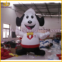 Outdoor Advertising Cheap Inflatable Dog Cartoon Price
