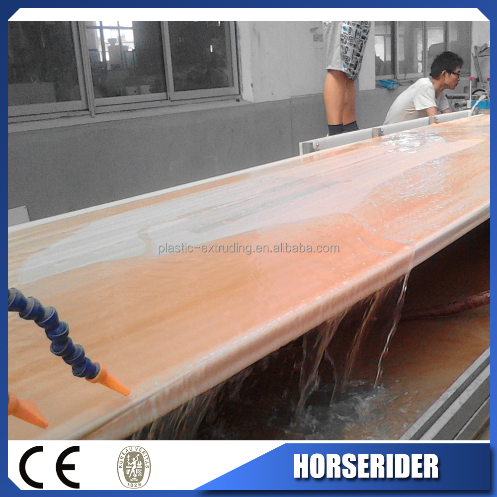 plastic wood combination door board machine