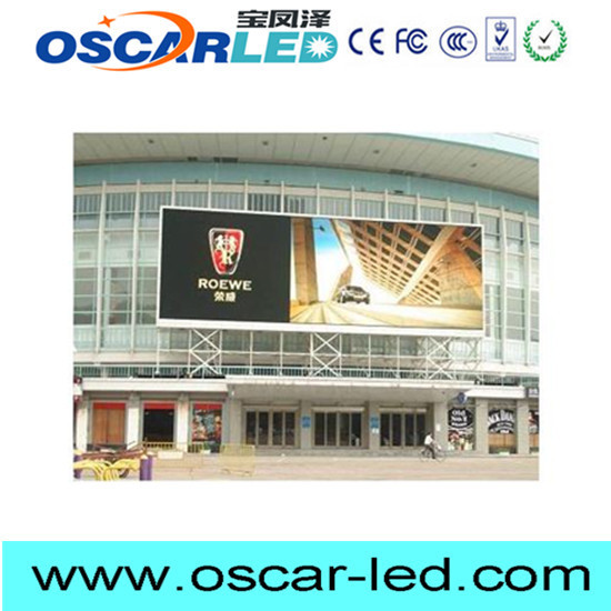 p16 Hot selling outdoor big size fixed installation video led screen made in China