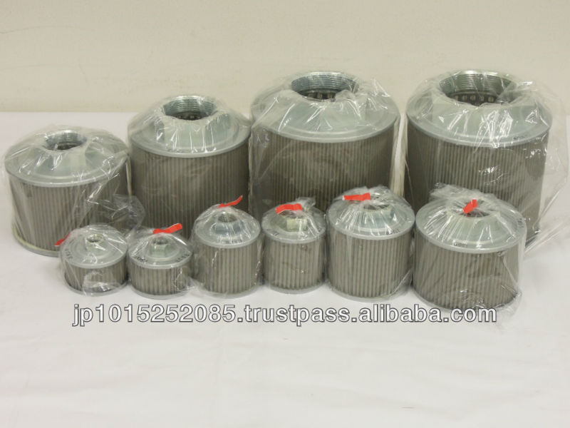 Reliable and High quality hydraulic pumps filter element with multiple functions made in Japan