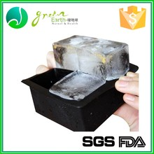 Silicone wholesale ice cube tray with lid