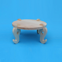 Serviceable customized color hand shaped wood chair