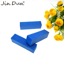 Customized Neon Color Mini Disposable 4 Ways Nail Buffer Block