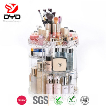 Customized profession high quality acrylic organizer makeup