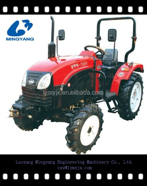 Hot sale YTO three-cylinder small 25hp 4-wheel drive tractors