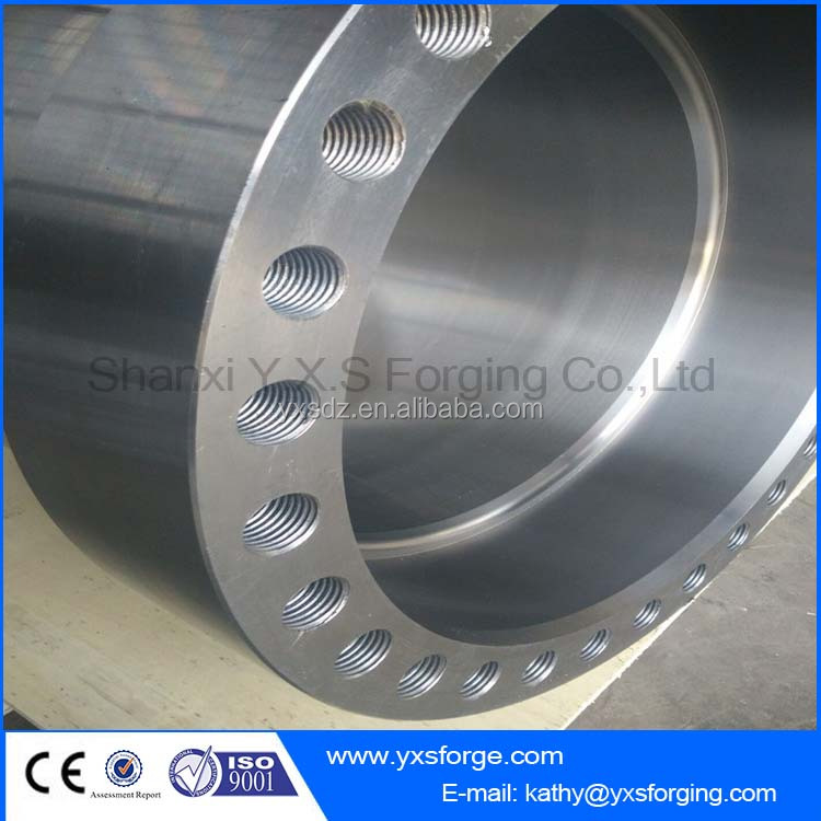 42CrMo4 Alloy Steel Forged Cylinder with Ultrasonic Testing