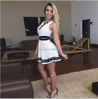 Modern african dress designs sexy indian party white dresses for women