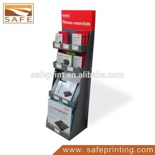 Custom Paper Frame Floor Display/showing Stand /Display Shelf for Fitness Products