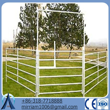 cattle fencing panels metal fence/Cheap Cattle Panels for sale/galvanized cattle fence for livestock cattle