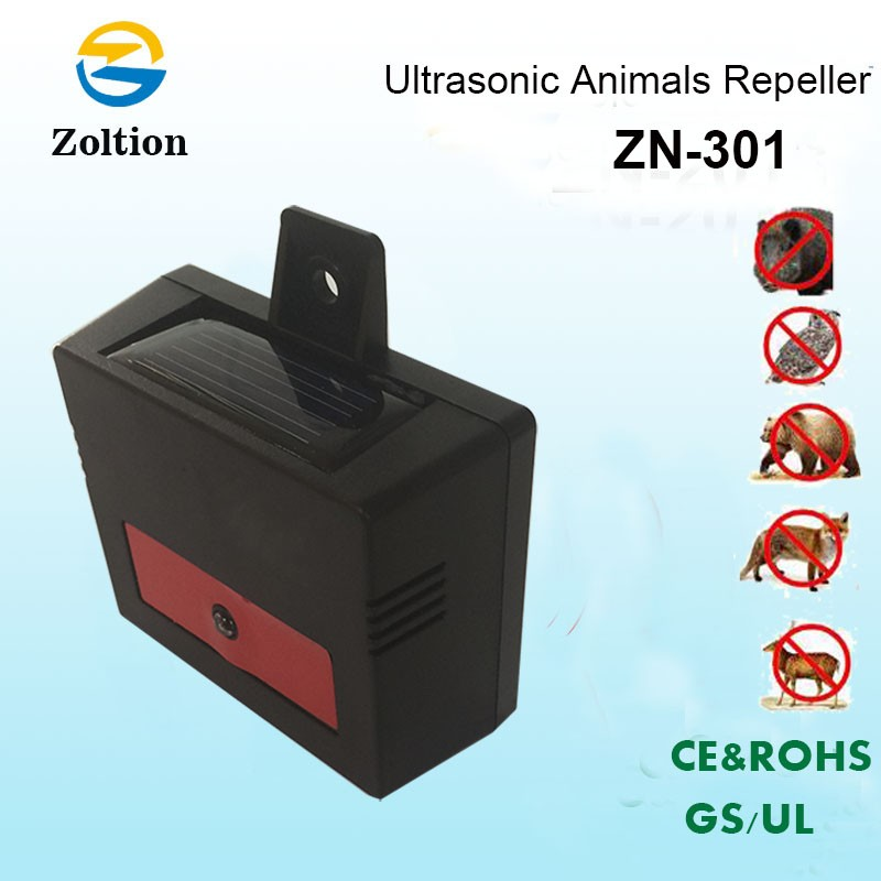 Zotion nite guard yard eco friendly outdoor solar solar predator wild animal pig marten pest chaser repeller ZN-301