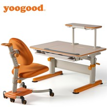 Yoogood Adjustable School Student Use Study Desk And Chair Set