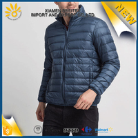 Fashion design men ware windproof winter down jacket
