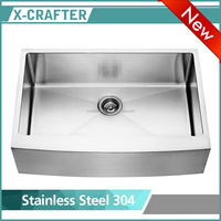 Handmade Stainless Steel Kitchen Apron Sink