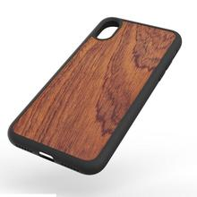 high quality real wood phone back case cover for iphone