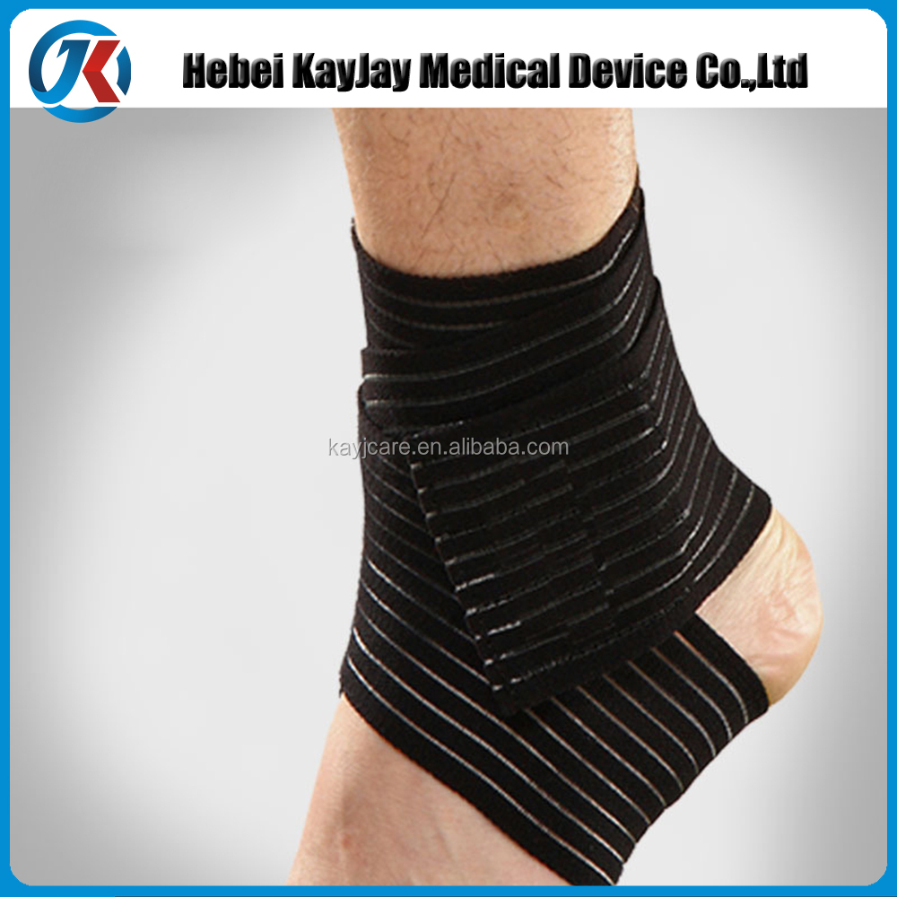 Breathable Adjustable Tendon Ankle Compression Brace Support of Ankle Protector Stabilizers Wraps