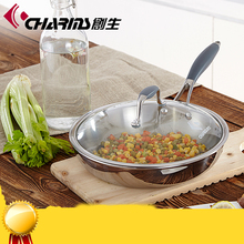 Charms Induction Stainless Steel No oil non-stick fry pan as seen on tv