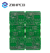 Electronic fr4 double layer gps circuit board