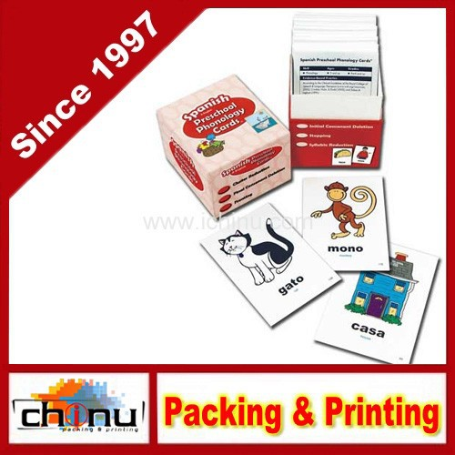 Customized Design Printed Playing Cards (430021)