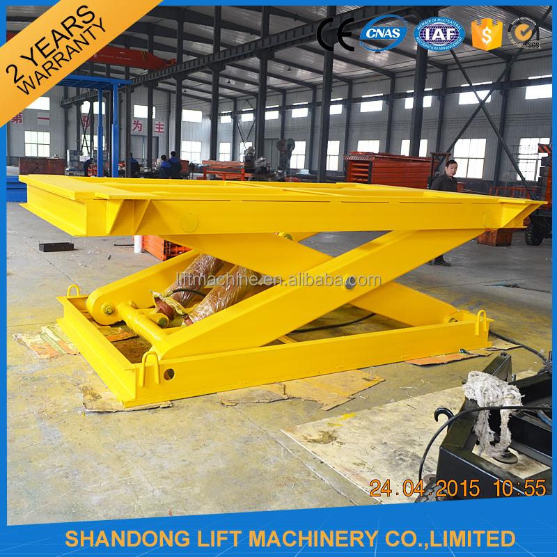 Heavy Duty Hydraulic Lifts : Up to ton heavy duty lifts freight hoist scissor