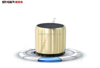 3.5MM Jack Mobile Laptop Portable Water Proof Resistant Music Mini Wireless Bluetooth Speaker With Led Ligh