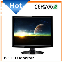 "Factory Price Used 19"" Inch Computer LCD Monitor with vga D-sub dvi input"