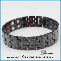 New Arrival !!! 2015 Bio Healing Magnetic Bracelet ,Black Tungsten Pure Healing Energy Bangle