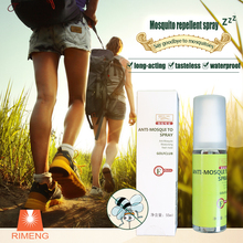 Not containing insecticides colorless transparent liquid mosquito repellent spray avoid long time