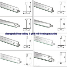 Automatic T Bar/Ceiling Tee Grid/Main T Cross T Roll Forming Machine
