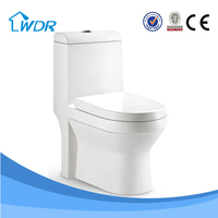 W9008A siphonic one piece ceramic bathroom toilet wc sizes