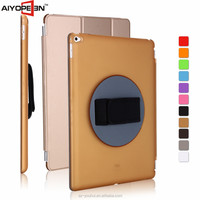 Hot sales hard case for ipad pro handheld case, 12.9'' portable case 360 Degree Rotating smart Cover
