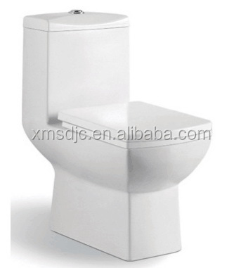 European Style Korea Design One-piece Siphonic Ceramic Toilet