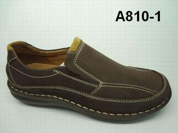 2014 fashion causal genuine leather italian men shoes