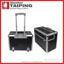 Black Aluminum Briefcases With Wheels