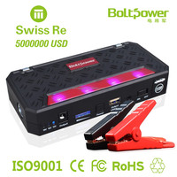 12000mAh LiCoO2 battery Jump starter for vehicle's emergency start charge for ATV'S/ Laptop/ smart phone/LED light