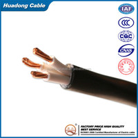 NYY-J Power cable 0.6/1KV 16mm2 N2XSY 6/10KV XLPE Insulated Copper conductor wire