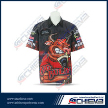 Custom Sublimated Motorcycle Jersey for BMX, Made of 100% Polyester, OEM Services
