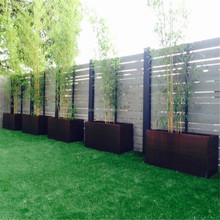 High Quality Corten Steel Rectangular Flower Planter for home and garden