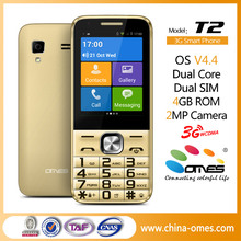 Android OMES T2 2.8 inch MTK6572 Big button cell phone for old men