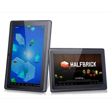 free shipping 7inch quad core tablet pc q88 allwinner a33 android4.4 android4.2 mini pc mid