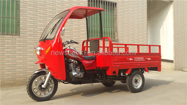 Bargain Price 200CC 250CC Motorized Cargo Tricycle with Cabin