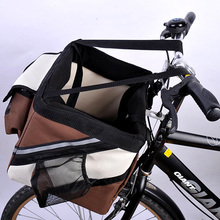 New products hot-sale fashion bike dog bag bicycle bag pet bag