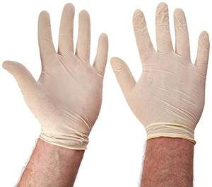 custom non sterile latex types examination exam medical surgical gloves of china supplier