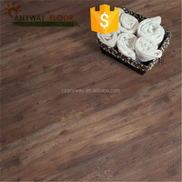 smoked Oak engineered wood flooring--wire brushed and stained